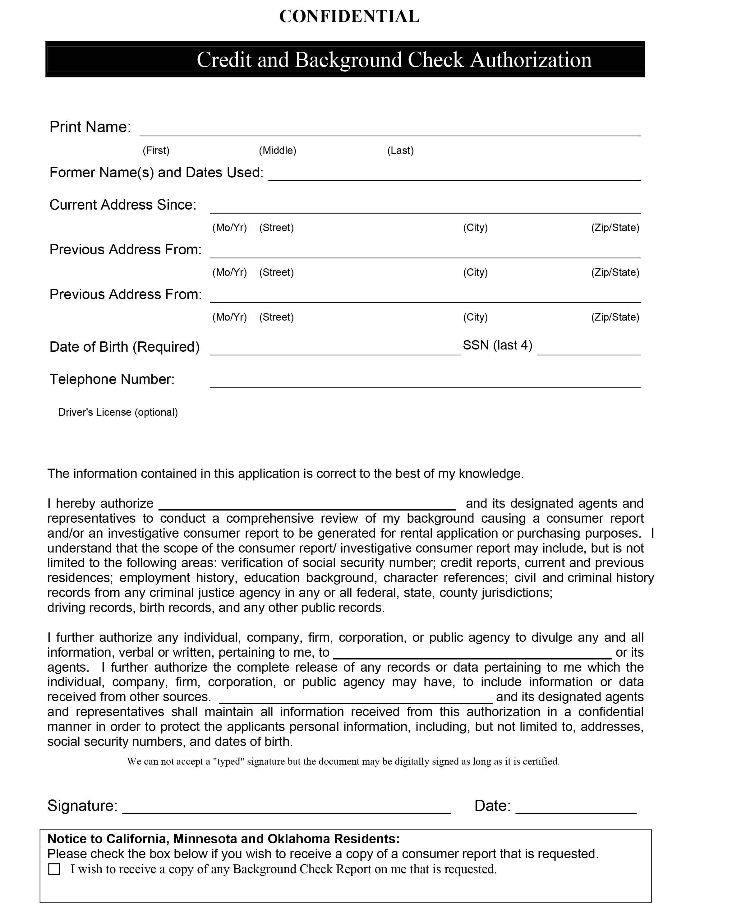 Authorization Form Here!